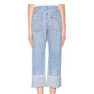 Citizens Of Humanity Jeans - Citizens of Humanity Parker Relaxed Cuffed Crop